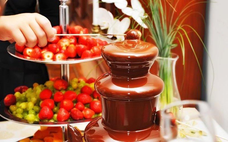 Шоколадный фонтан МРК «Зеленый остров»